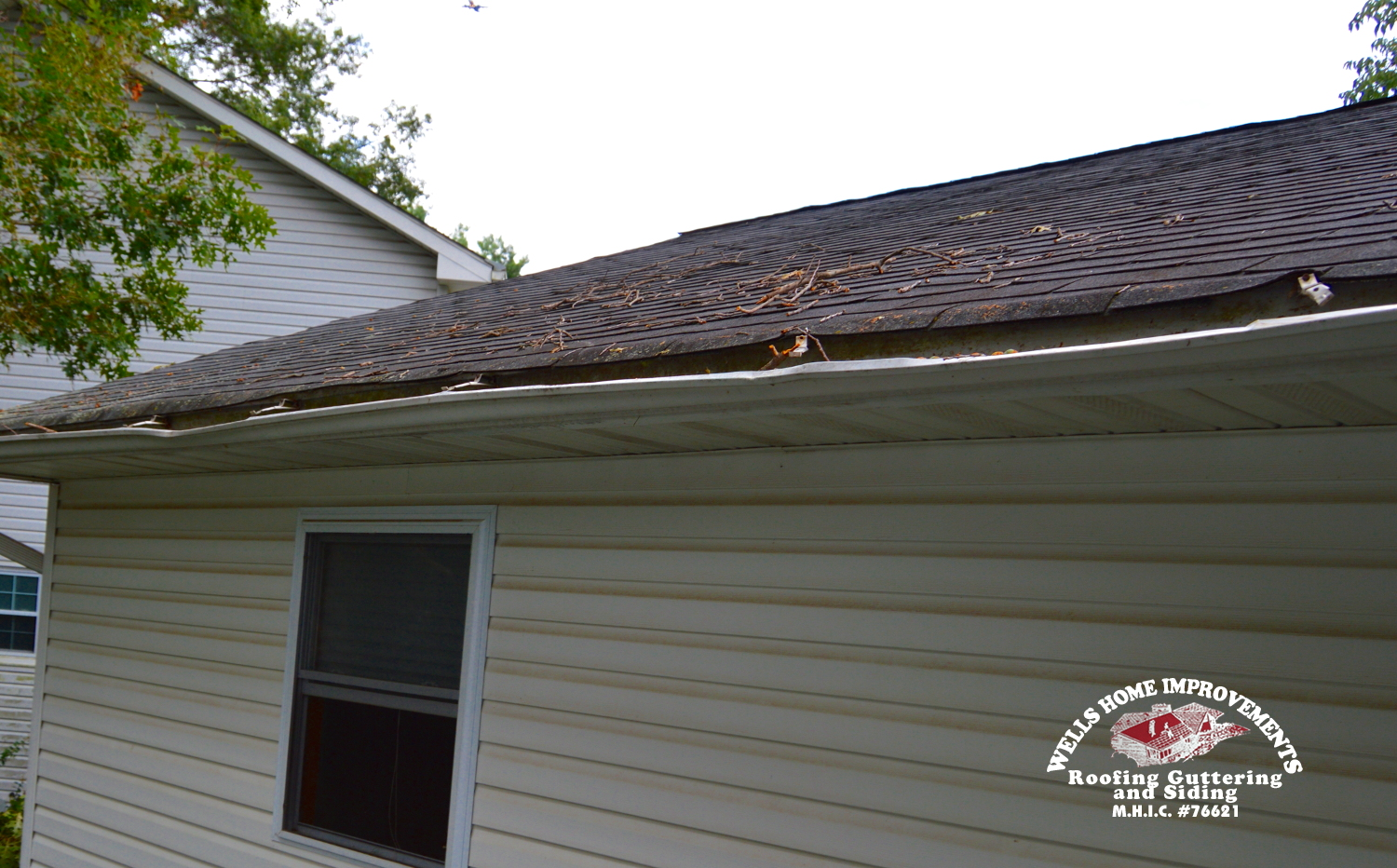 Storm Damaged Gutters in Annapolis