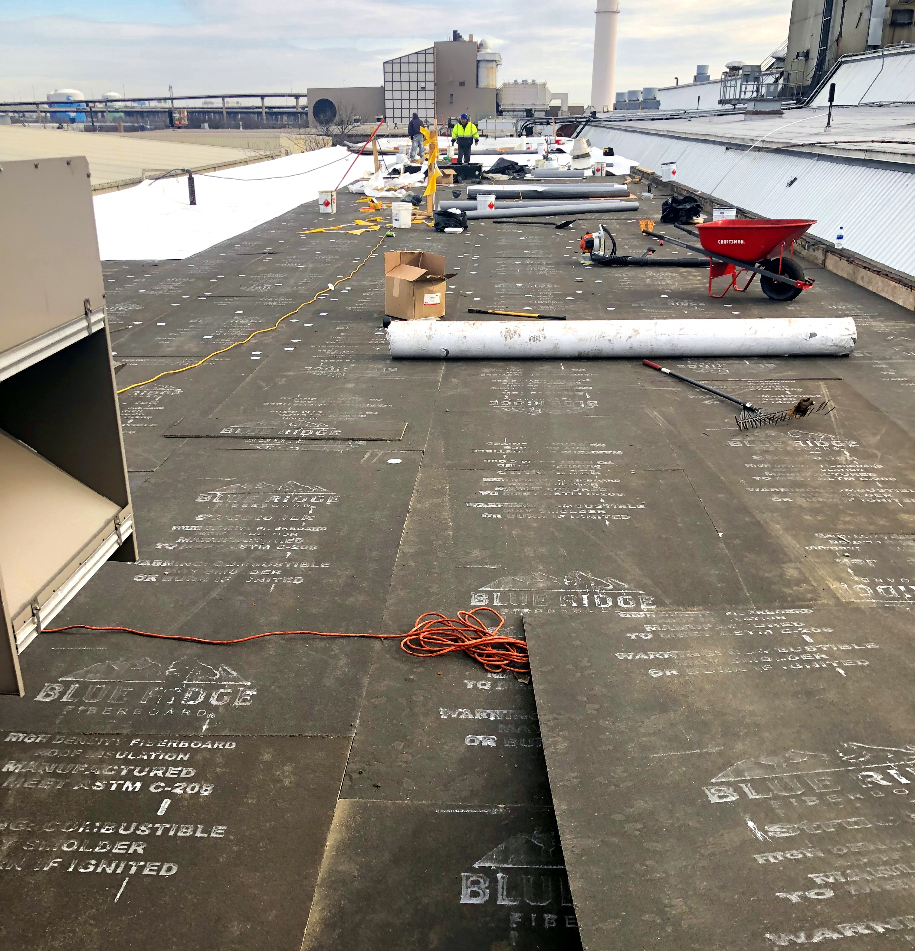 Roofers Shady Side Flat Roofing