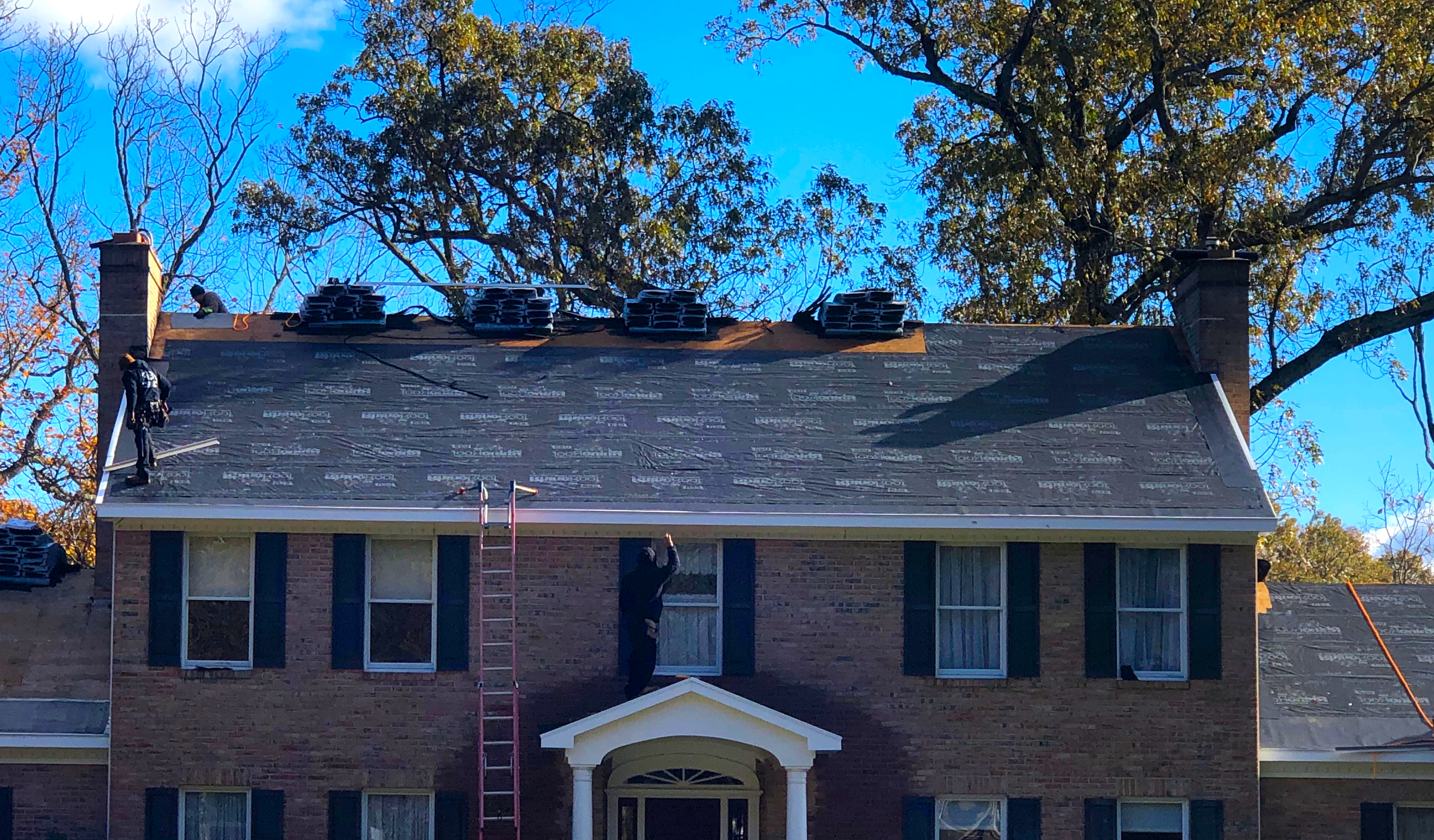 Roofers Shady Side metal roofing, asphalt shingles, flat roofing