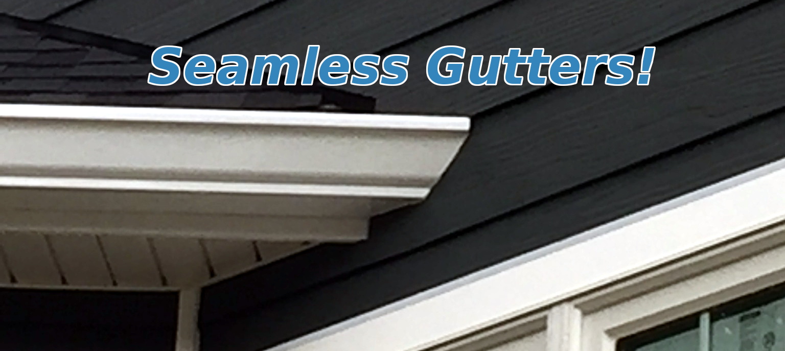 Seamless Gutters in Arnold MD